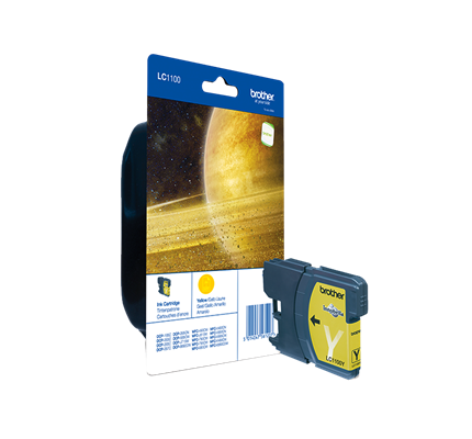 Brother Lc-1100y Ink Jet Giallo 325pg