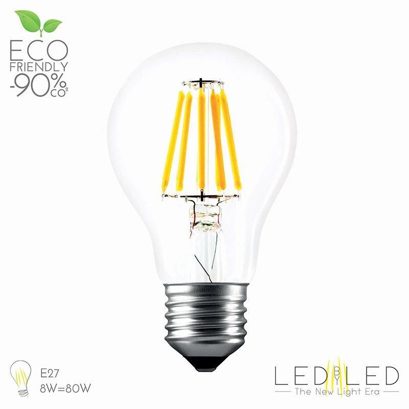 LEDBYLED FIELD GOCCIA CLEAR 2700 E27 10W