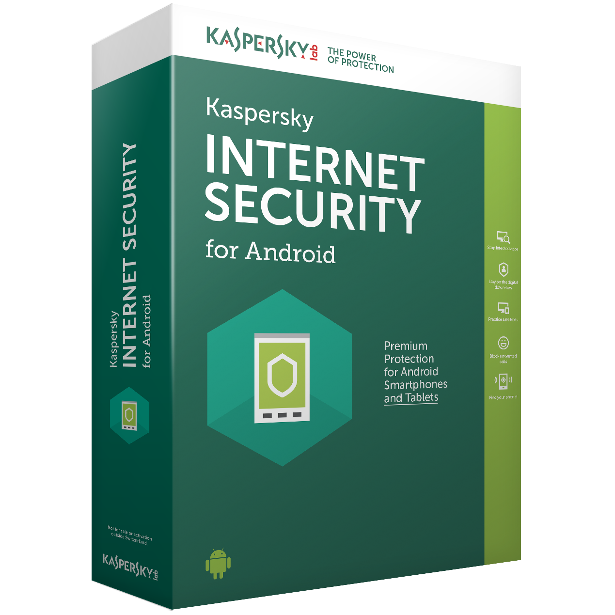 Kaspersky Int. Sec. Android 1User 1Y