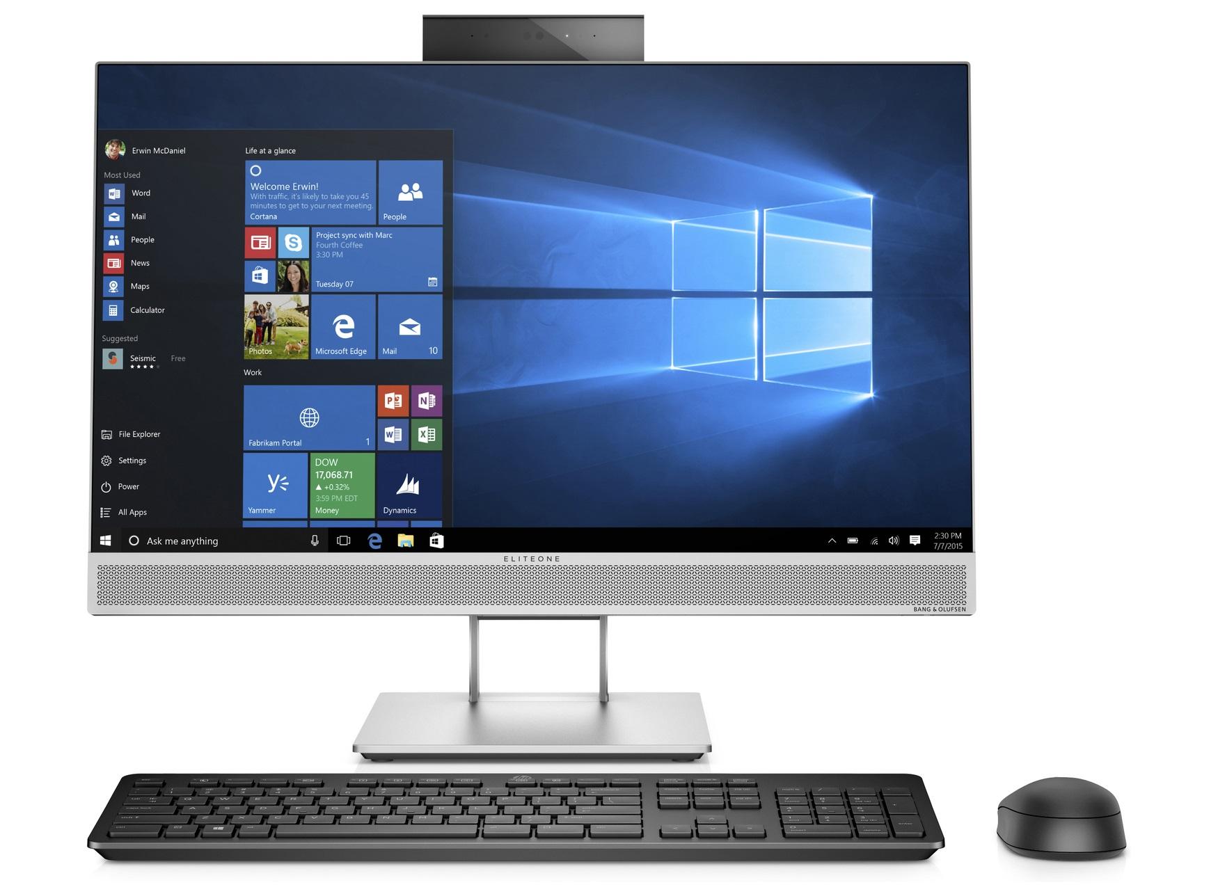HP Core i7-8700 8GB 512GB W10P