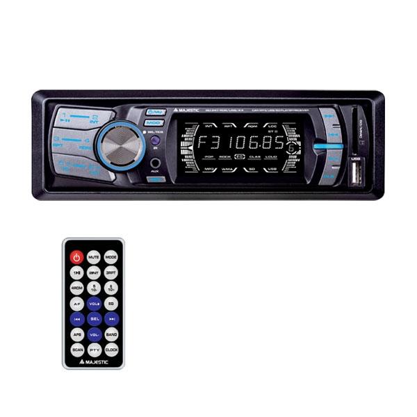 MAJESTIC AUTORADIO SD-247 RDS/USB/AX