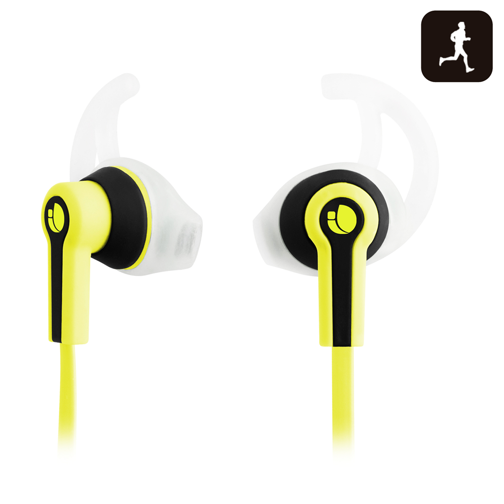 NGS SPORT HEADPHONE RACER YELLOW