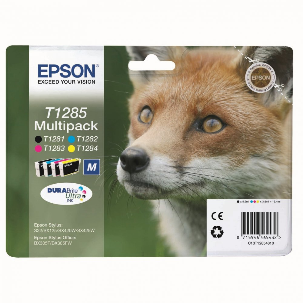 EPSON S22 T12854012 MULTIPACK