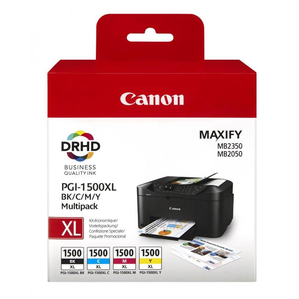 Canon Pgi-1500xl Bk/c/m/y Mult Blist (x)