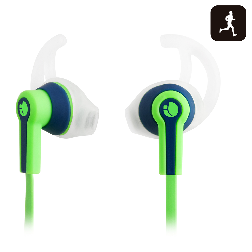 NGS SPORT HEADPHONE RACER GREEN