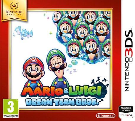 NINTENDO 3DS Mario&Luigi Dream Team Sel.