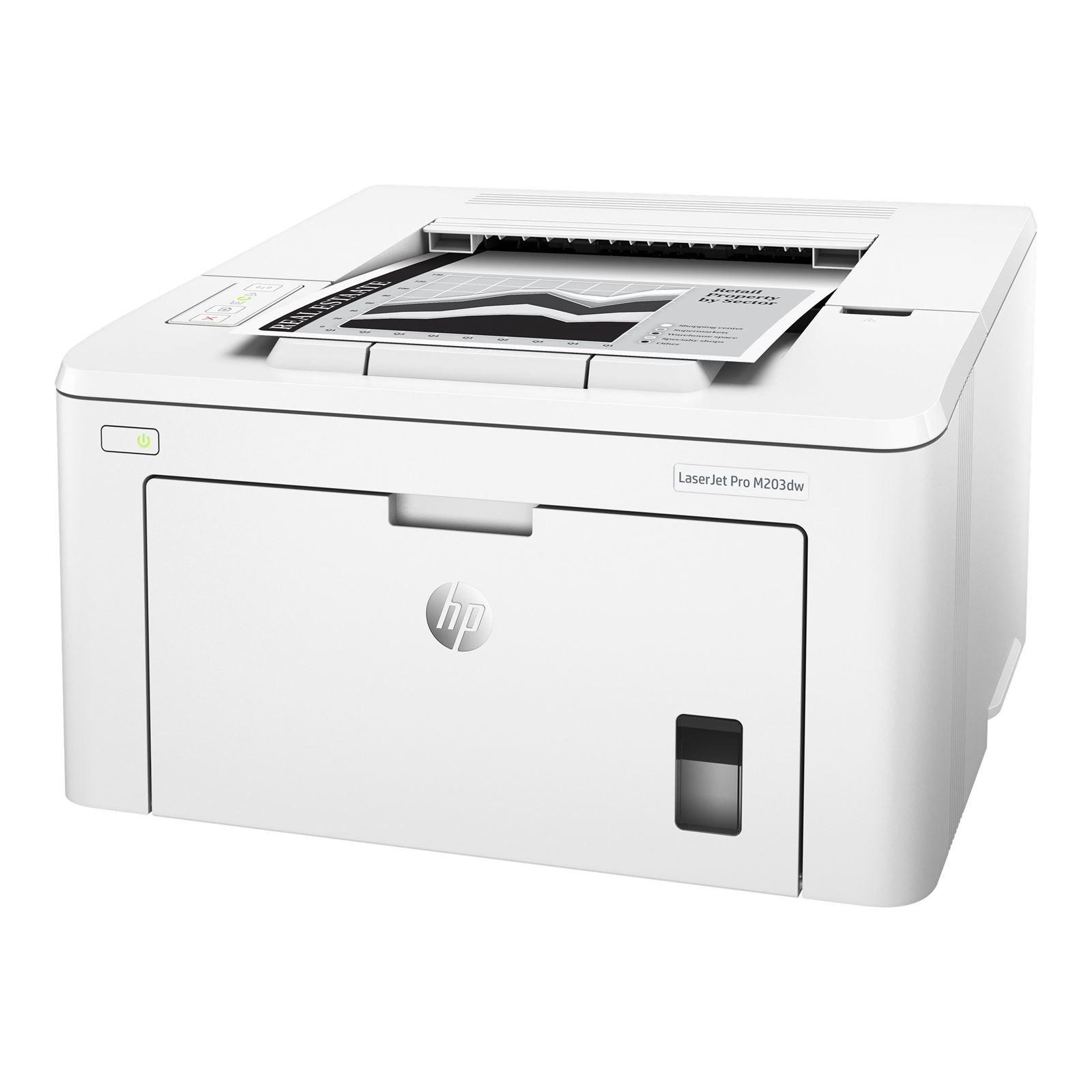 HP Stampante LaserJet Pro M203dw ^