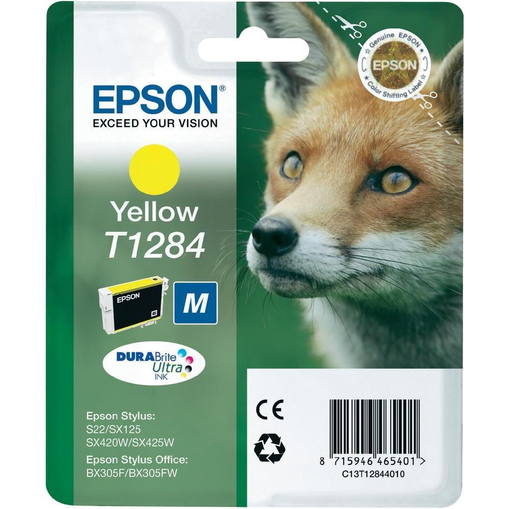 Epson S22 T12844022 Ink Jet Giallo