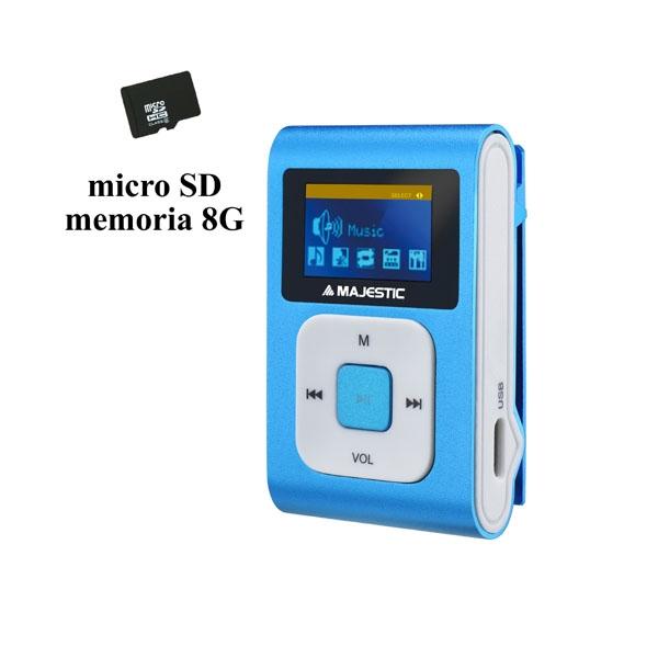 MAJESTIC LETTORE MP3 SDB-8349