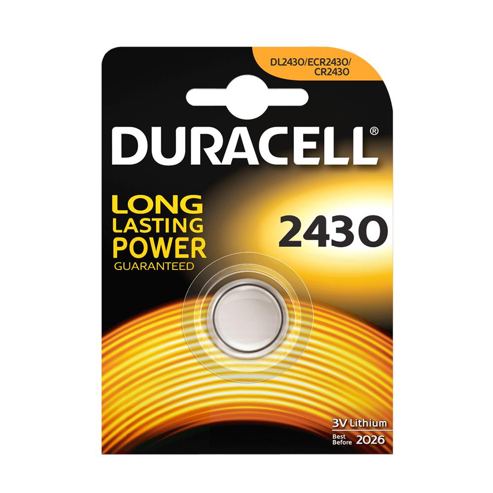 DURACELL CR2430 - 3volt - Bl 1Pz