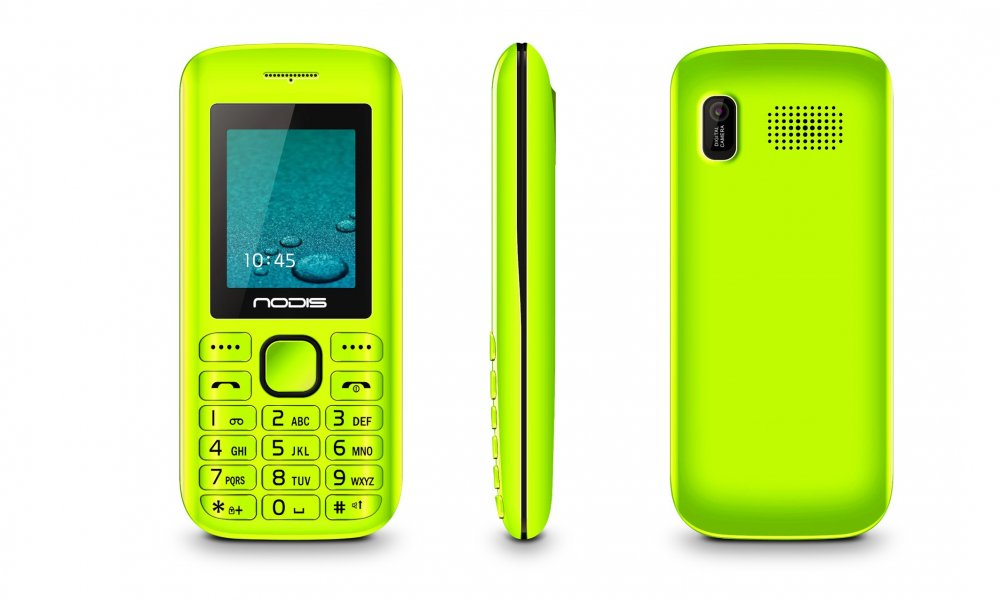 Nodis Telefono Cellulare ND-30-ME GREEN