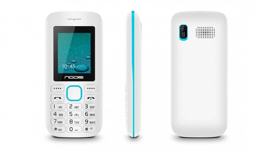 Nodis Telefono Cellulare ND-30-ME WHITE