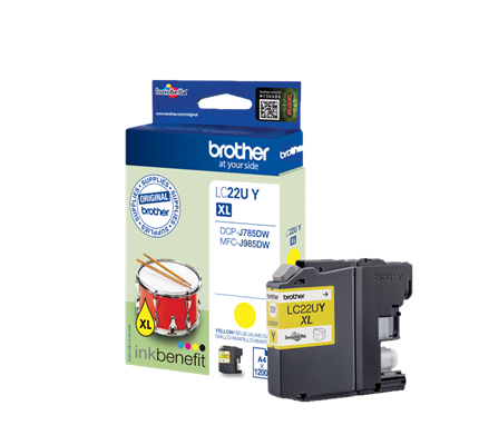 Brother Lc-22uy Ink Jet Giallo
