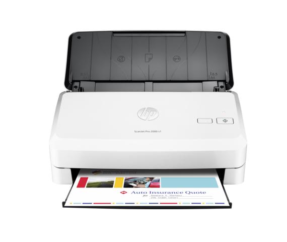 HP Scanner Scanjet Pro 2000