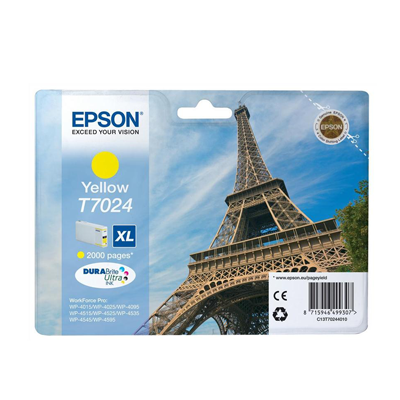 Epson Wp4515dn T70244010 Ink Giallo Xl