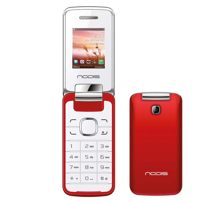 Nodis Telefono Cellulare NC-20 RED