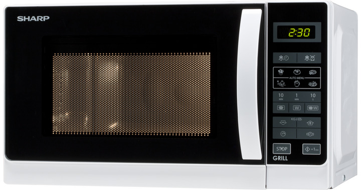 SHARP R-642WW Forno Microonde+Grill 20lt