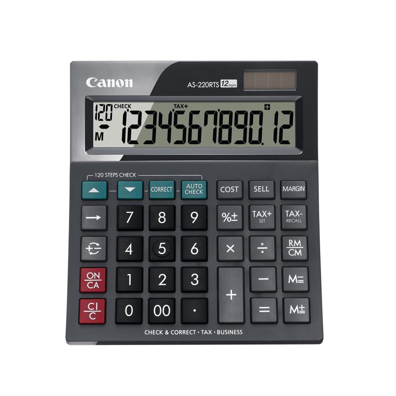 Canon Calcolatrice AS-220RTS