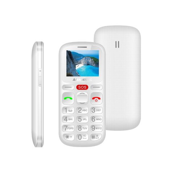 MAJESTIC SENIOR PHONE TLF-SILENO 30N WH