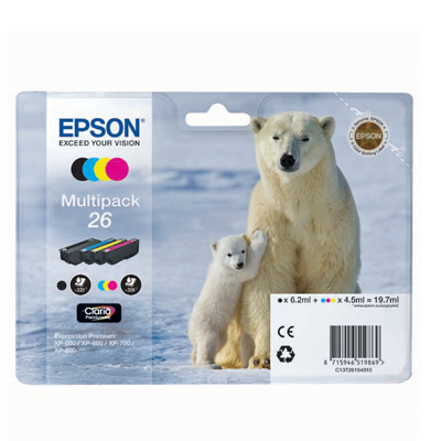 EPSON XP-600 T26164010 INK JET MULTIPACK