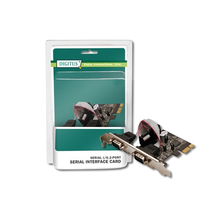DIGITUS SCHEDA PCI EXPRESS 2 PORTE RS232