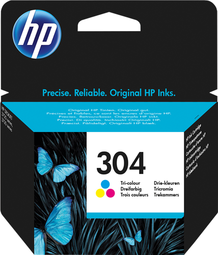 HP 304 INK JET TRICROMIA BLISTER