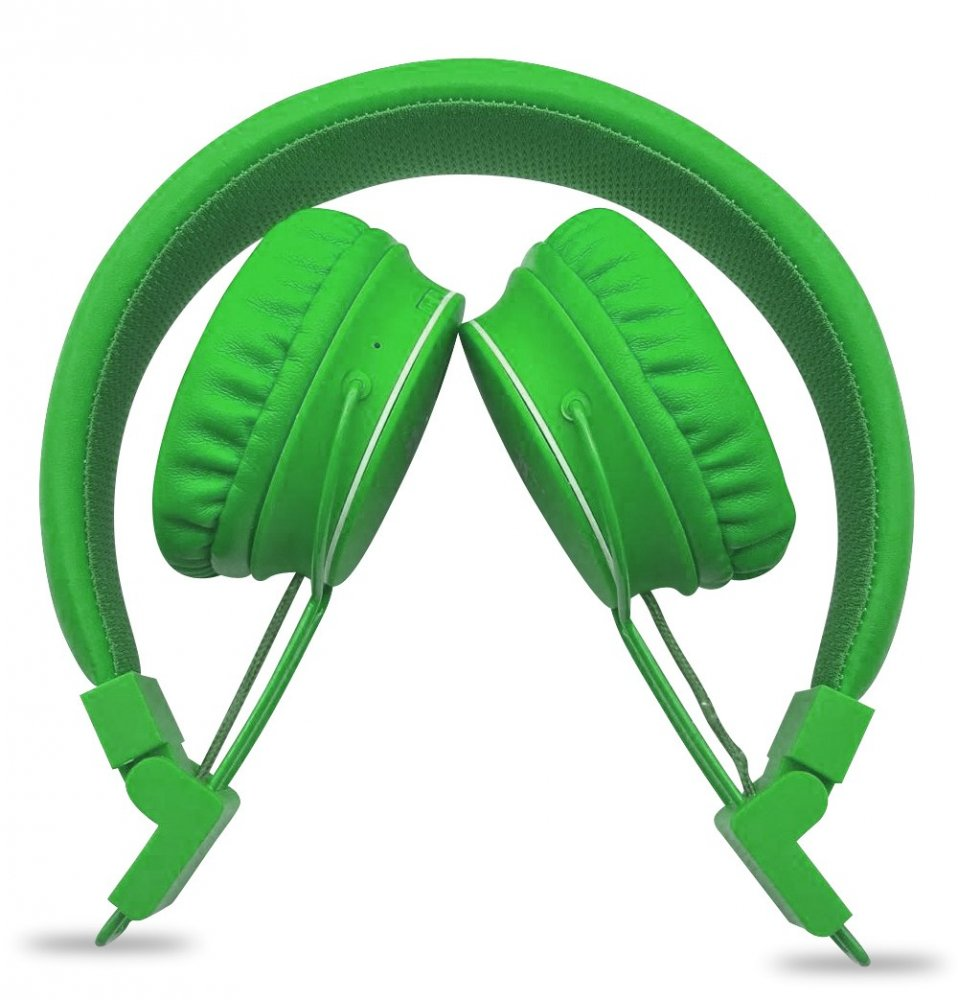 NODIS Cuffia Bluetooth Stereo GREEN