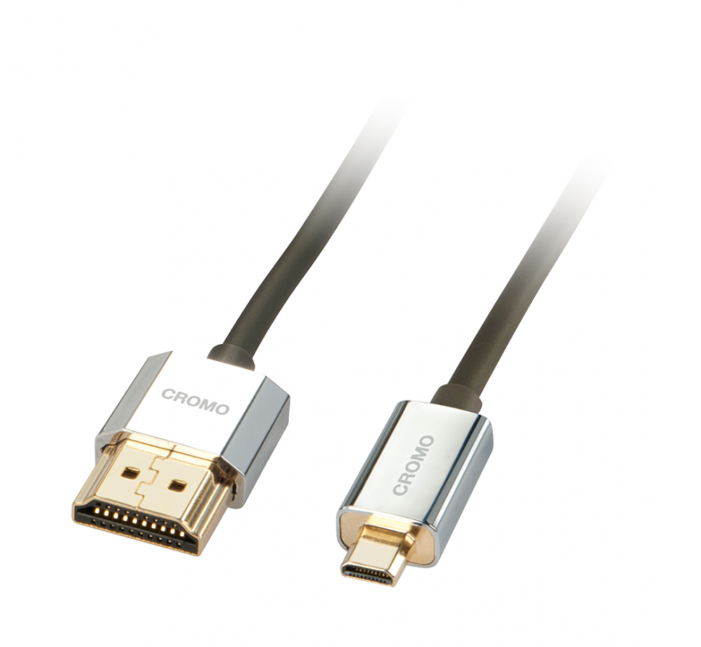 Lindy Cavo Slim HDMI High Speed A/D 0.5m