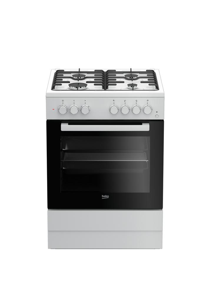 BEKO FSE62110DW cucina gas+forno