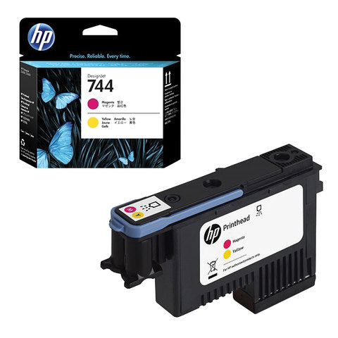 HP F9J87A HP 744 INK PHOTO MAGEN & GIALL