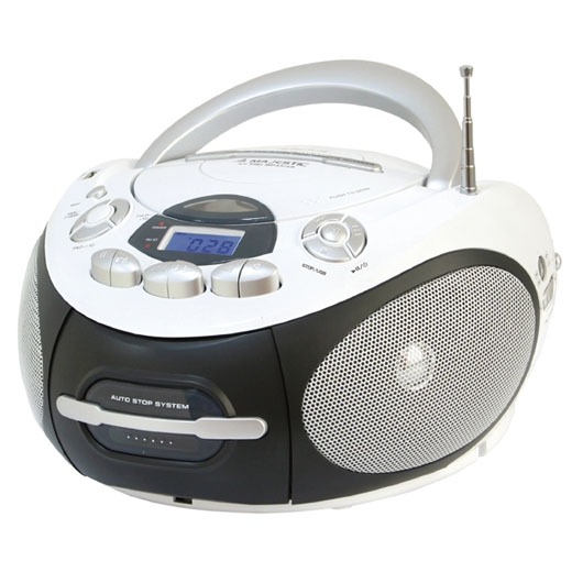 MAJESTIC LETTORE CD/MP3 BOOM BOX AH-2387