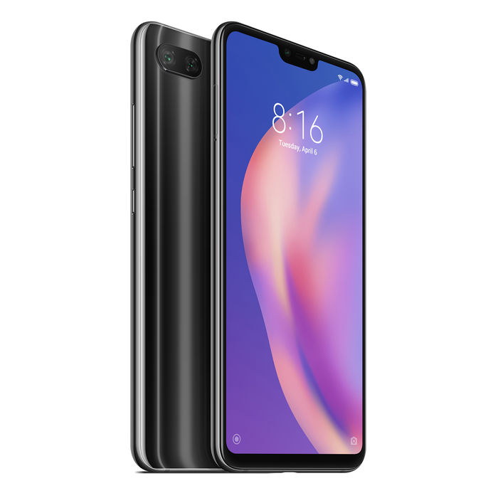 XIAOMI MI 8 LITE MIDNIGHT BLACK 64GB/4GB