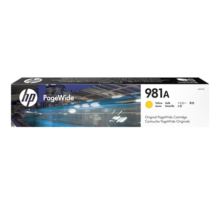 HP J3M70A 981A TONER GIALLO PAGEWIDE