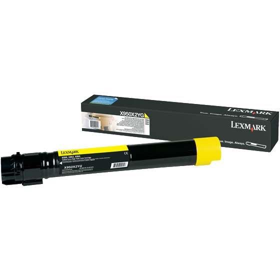 Lexmark X950 X950x2yg Toner Giallo Hc