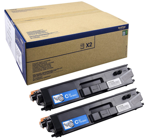 BROTHER TN-900CTWIN TONER CIANO 2 PZ *