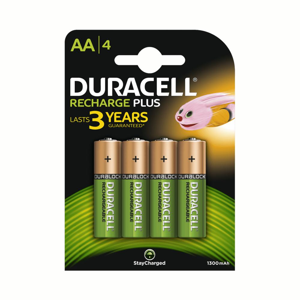 Duracell Plus Ricaric. AA HR6 1300mAh