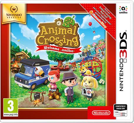 NINTENDO 3DS ANIMAL CROSS.NEW LEAF SELEC