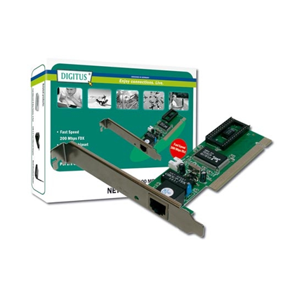 DIGITUS SCHEDA DI RETE PCI 10/100 RJ45