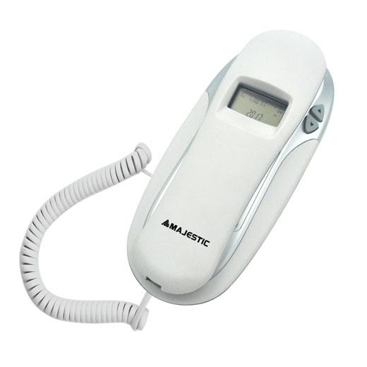 MAJESTIC TELEFONO FISSO MAX-251 WH