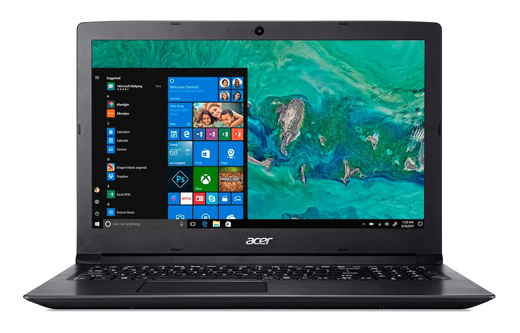 ACER CORE i5-7200U 8GB 1TB 15.6 W10H