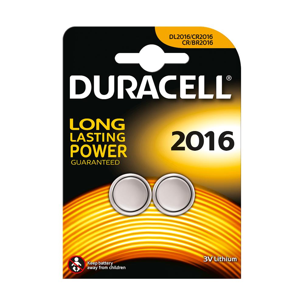 DURACELL CR2016 - 3volt - Bl 1Pz