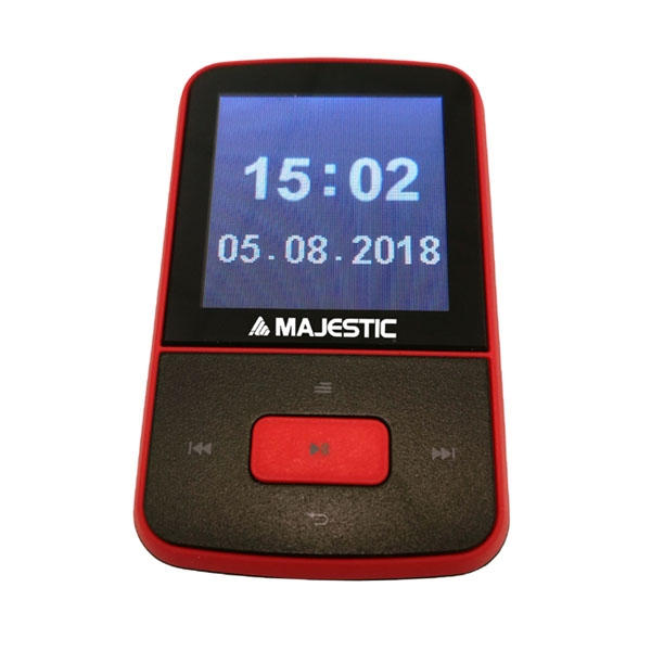 MAJESTIC LETTORE MP3 BT-8484 RED