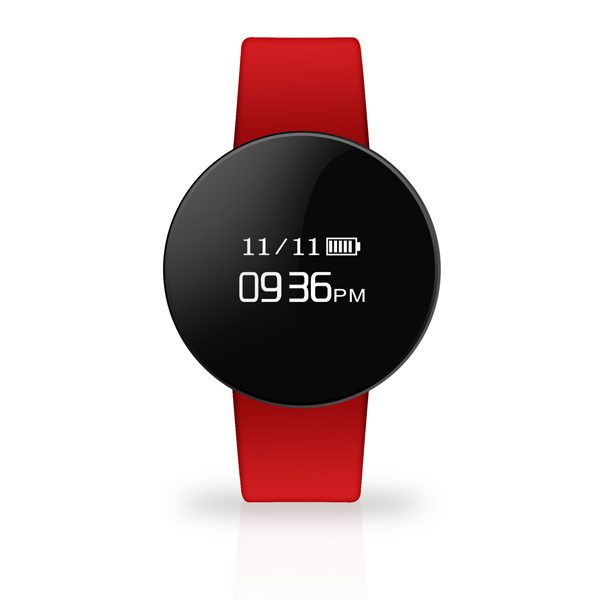 TECHMADE smartwatch RED