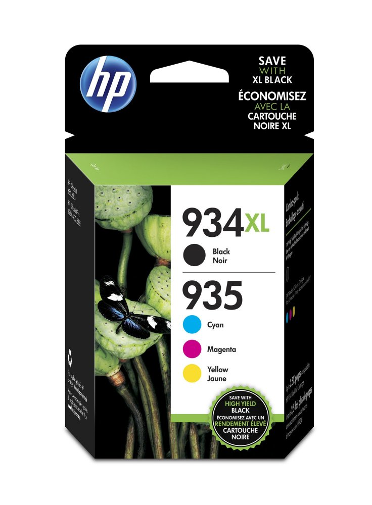 HP X4E14AE 934XL INK JET MULTIPACK CMYK