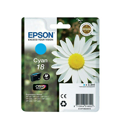 Epson Xp-102 T18124022 Ink Jet Ciano Xl