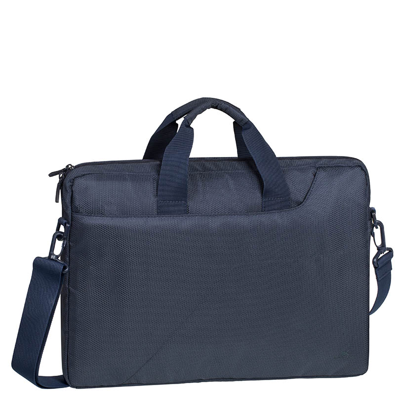BORSA SLIM PER NOTEBOOK 15,6 BLU SCURO