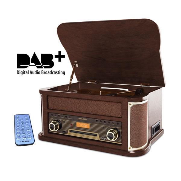 MAJESTIC GIRADISCHI RETRO TT-47 DAB CD