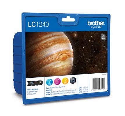 Brother Lc-1240valbp Kit Ink C,y,m,bk
