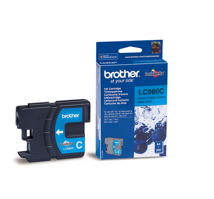 BROTHER LC-980C INK JET CIANO
