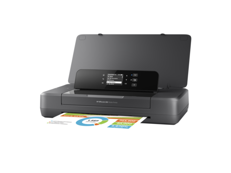 HP Stamp. Officejet 200 Mobile Print. ^